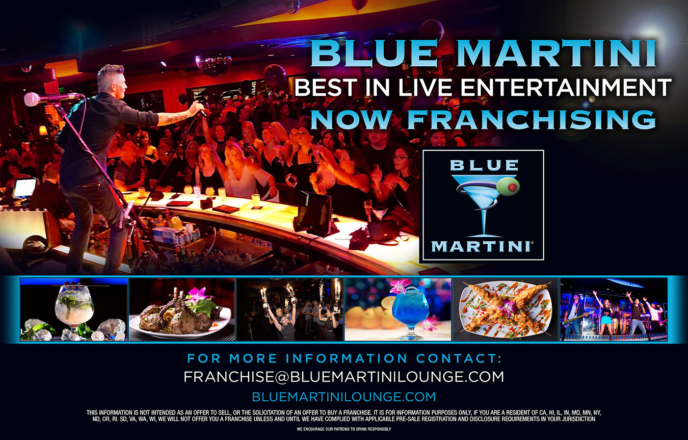 Blue Martini – Now Franchising