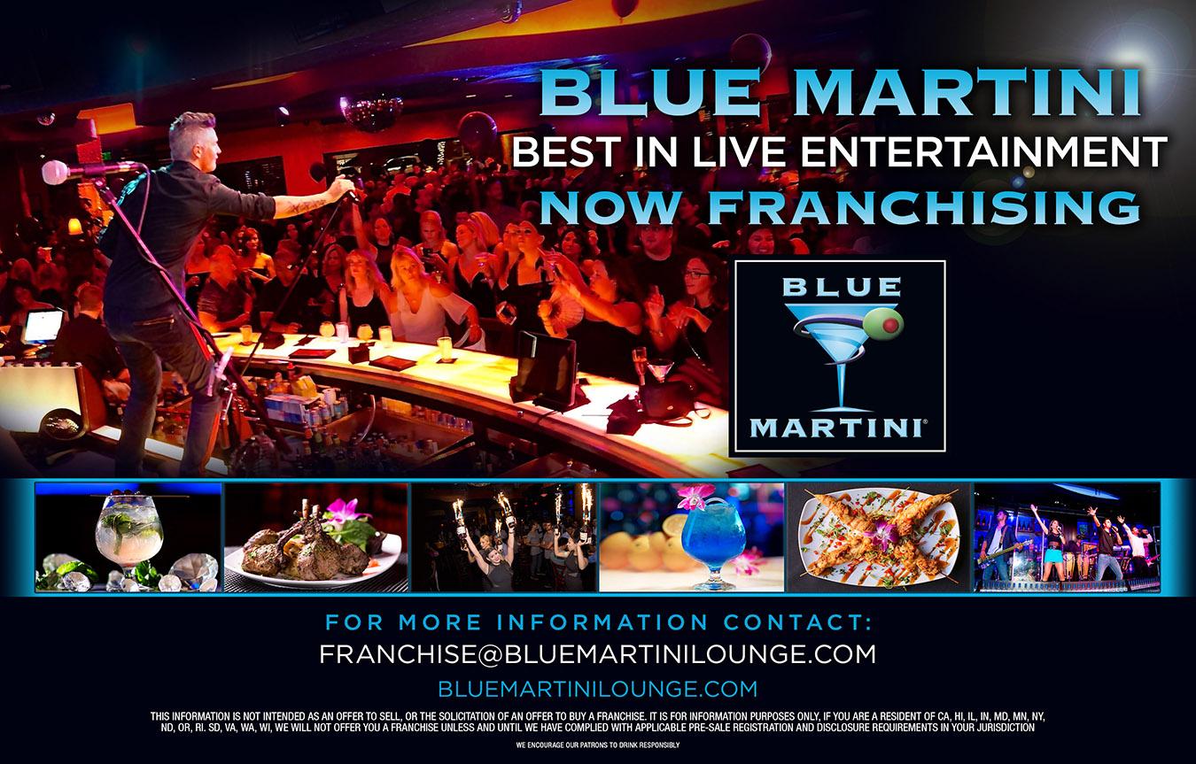 Blue Martini – Now Franchising